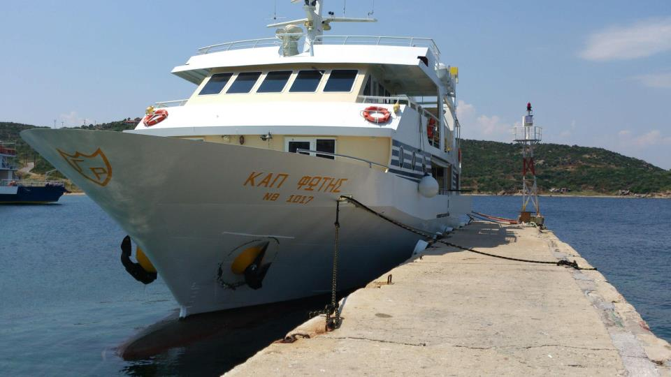 Cruise to Mount Athos from Ouranoupoli (Captain Fotis)