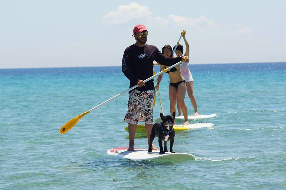SUP tours in Armenistis, Halkidiki