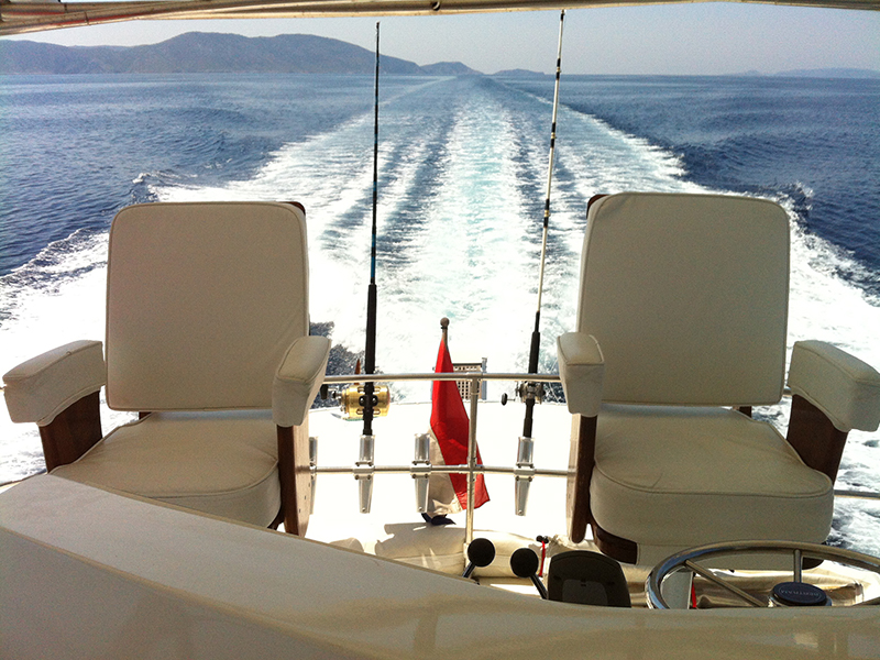 Motor Yacht Half Day Cruise to Diaporos