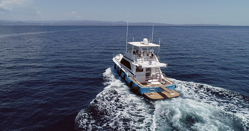 Motor Yacht Day Cruise to Mount Athos (from Ormos Panagias)