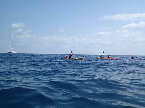 Armenistis - Sithonia / Half day Sea Kayaking Tour