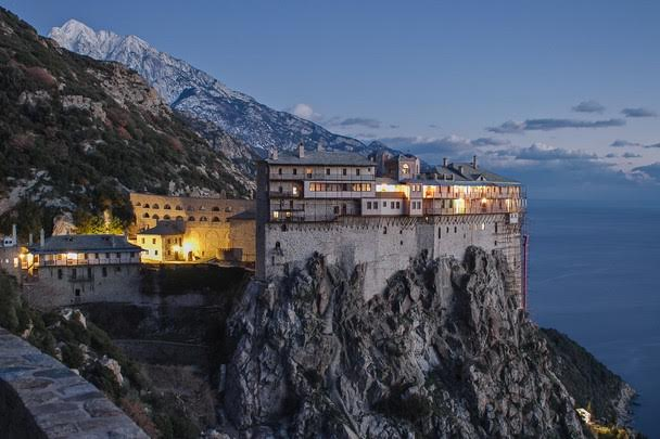 Mount Athos-Drenia-Ammouliani (from Ouranoupoli)