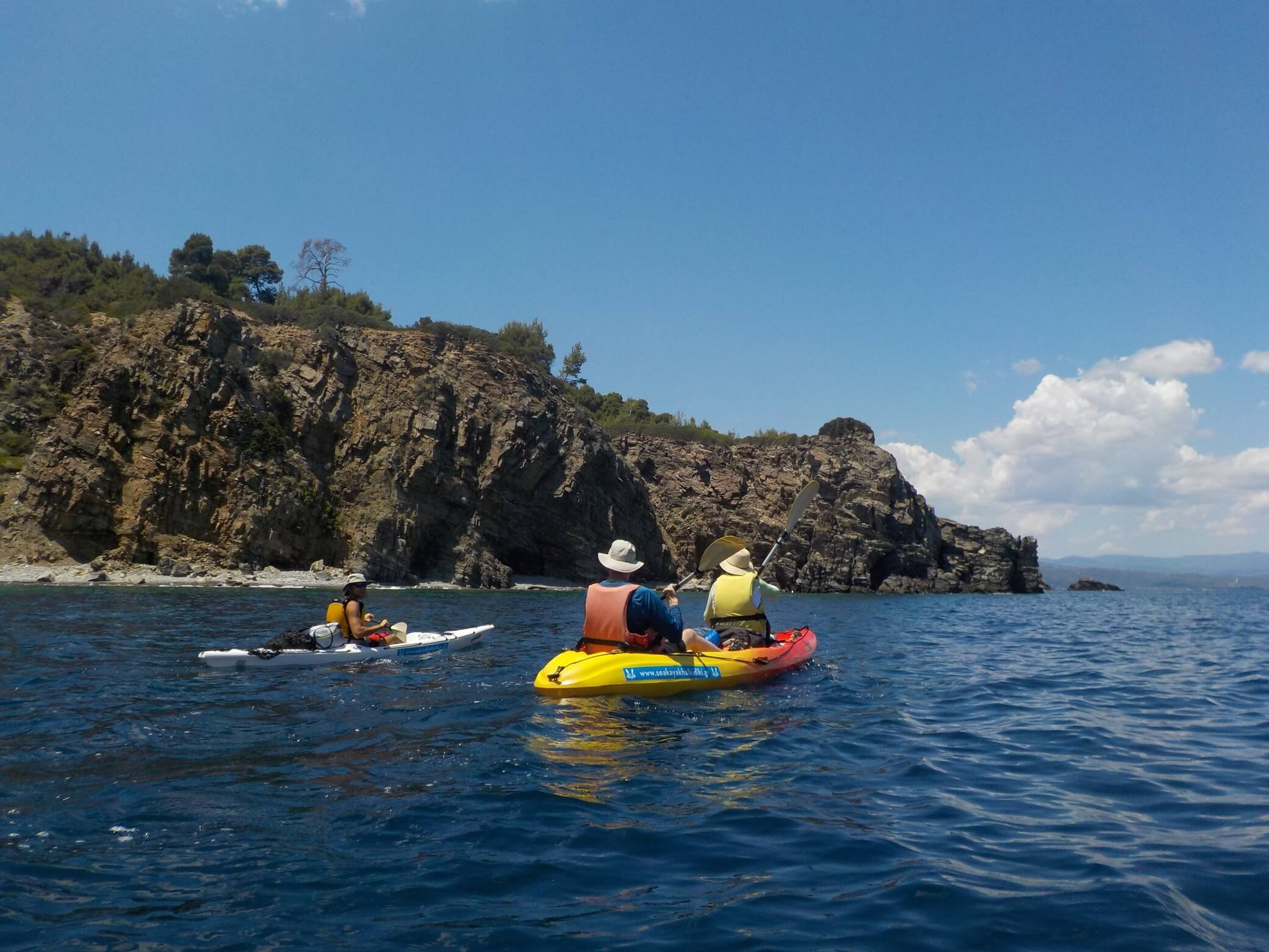 The Full Day Sea Kayak Trip Sithonia (Vourvourou)