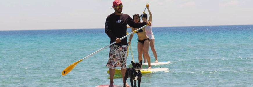 Full day SUP tour in Sithonia