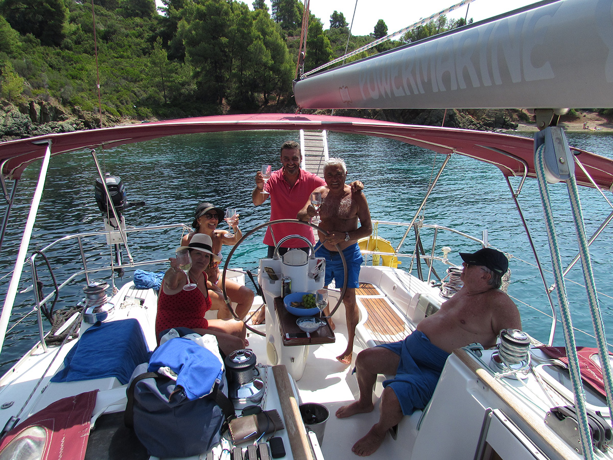 Day Sailing trips - escape from the reality (Sithonia-Neos Marmaras)