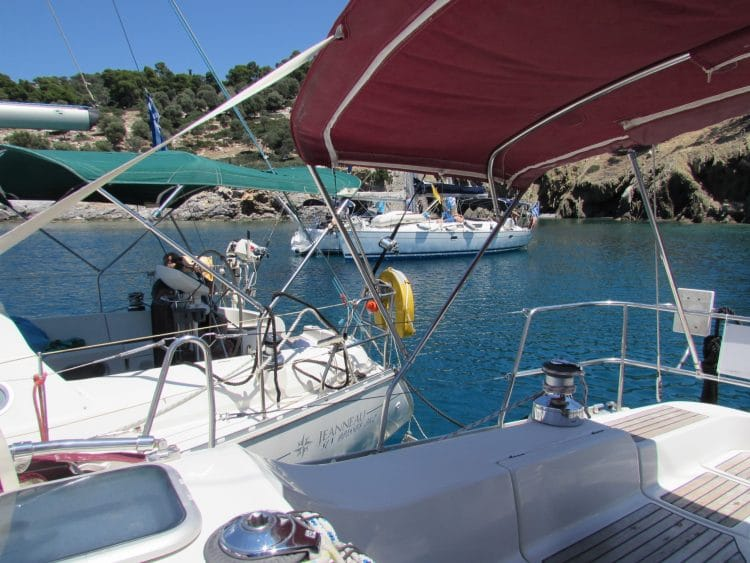 Day Sailing trips - escape from the reality (Neos Marmaras)