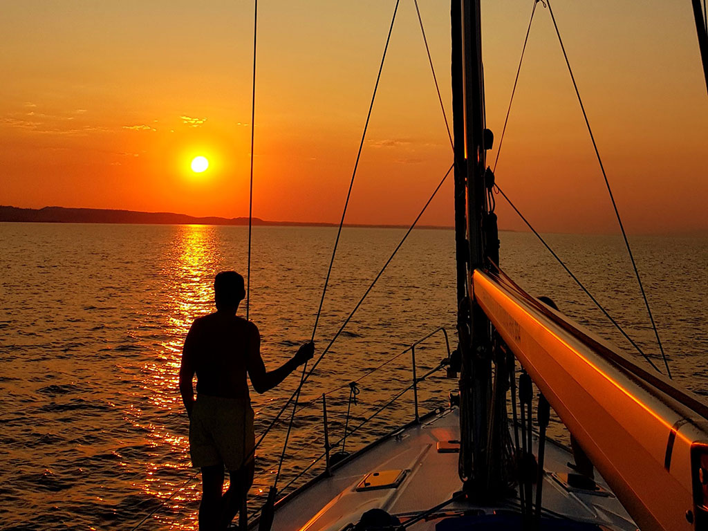 Sunset Sailing Cruise 4 hours (Kassandra-Paliouri)